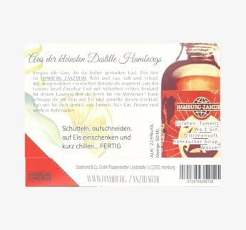 Gin Sour Cocktail mit Tumeric