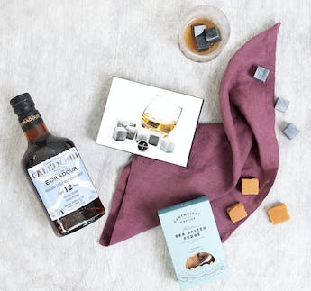 Whisky, Fudge & Steine Set, 3-teilig