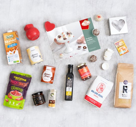 "Foodist ""My Cake Box Valentinstag"" mit Live-Backen"