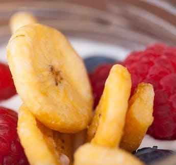 Knusprige Bananenchips