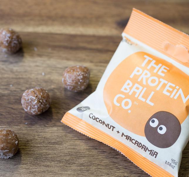 kokosnuss und macadamia proteinb lle von the protein ball. Black Bedroom Furniture Sets. Home Design Ideas