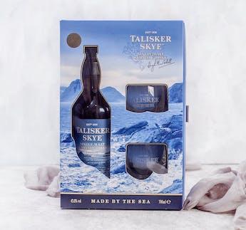Talisker Skye Set mit zwei Gläsern