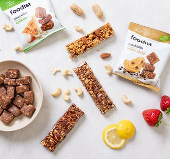 Foodist BIO Nut Bar Probierpaket, 9-teilig