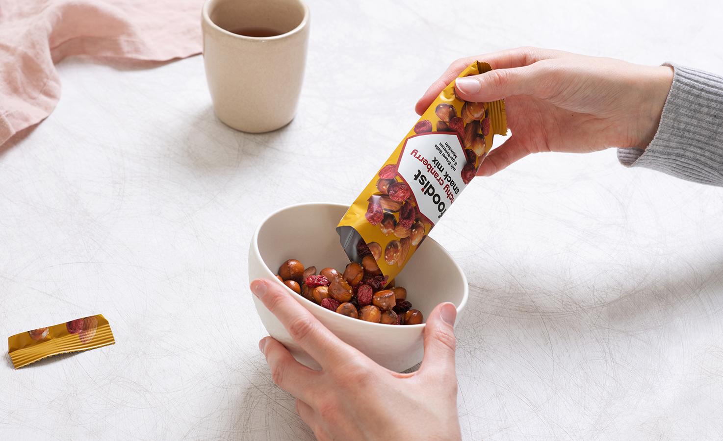Crunchy Cranberry Snack Mix