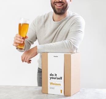 Bier-Braukasten-Set WEIZEN zum Selbermachen DIY Kit