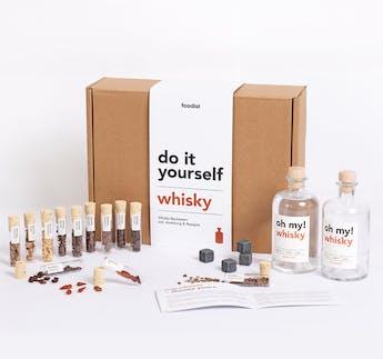 Whisky Infusion Baukasten-Set zum Selbermachen DIY Kit