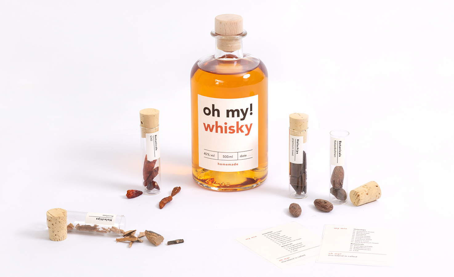 Whisky Infusion Baukasten