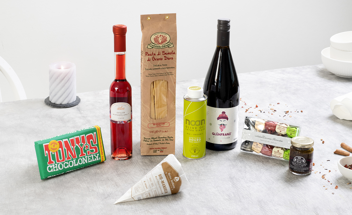 Weihnachtsfeier @home Box
