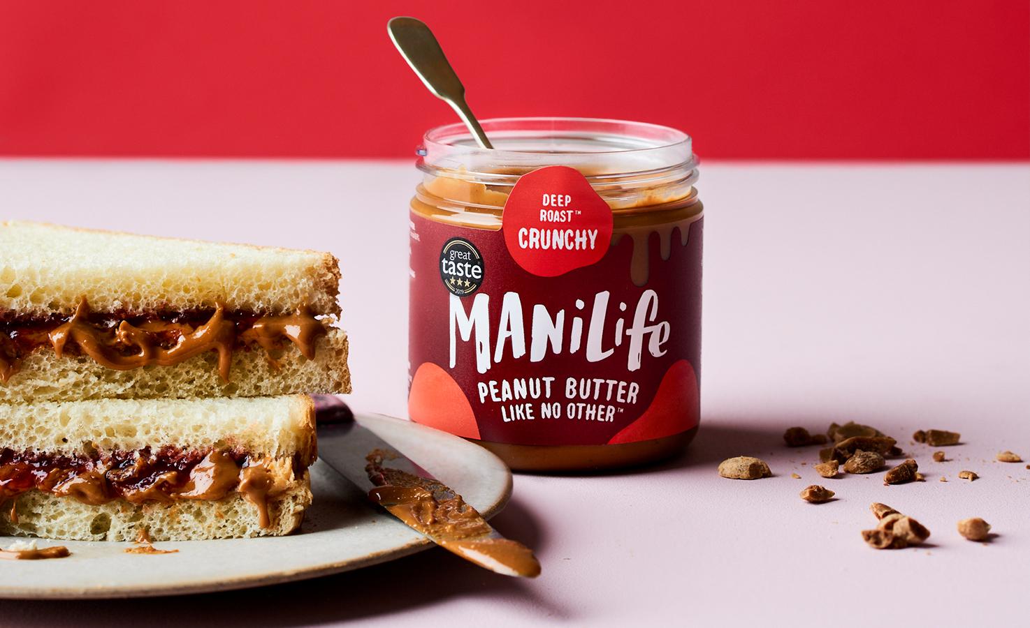 Image Deep Roast Erdnussbutter, crunchy