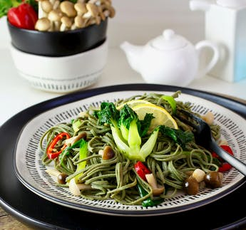 BIO Spaghetti Edamame & Spirulina