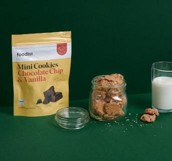 BIO Mini Cookies Chocolate Chip & Vanilla
