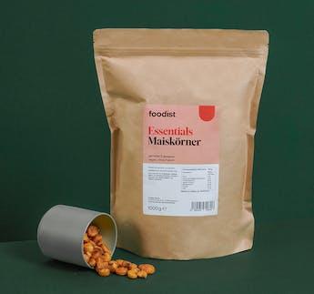 Maiskörner, geröstet & gesalzen 1kg