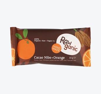 BIO Riegel mit Kakaonibs & Orange