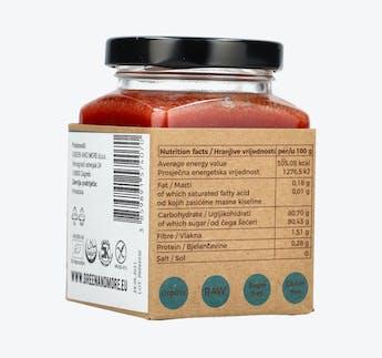 BIO Honigcreme mit Erdbeeren