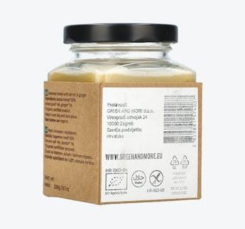 BIO Honigcreme mit Zitrone und Ingwer