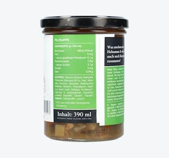 "Vegane Kraftsuppe ""Vitalpilze"""