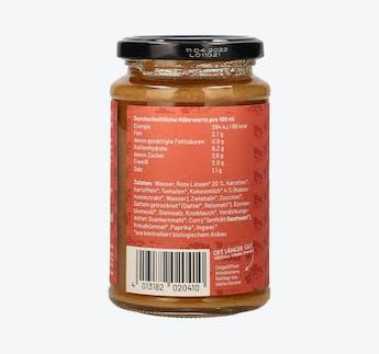 BIO Rote Linsen Cremesuppe