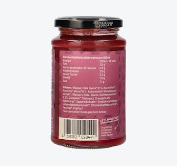 BIO Rote Beete Cremesuppe