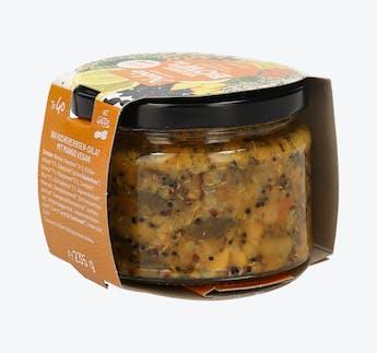 BIO Vegetarische Bowl mit Kichererbsen und Mango