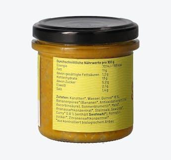 BIO Aufstrich Quinoa Curry