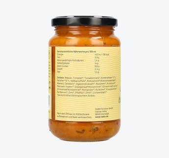 BIO Reisglück Chana Masala Sauce mit Kichererbsen