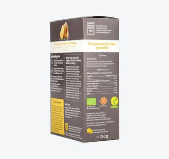 BIO Speisestärke aus Mais, glutenfrei