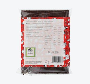 Edelzartbitterschokolade (62%) mit ganzen Haselnüssen - Kraftpaket