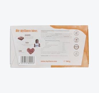 Schokoladentafel Karamell-Meersalz