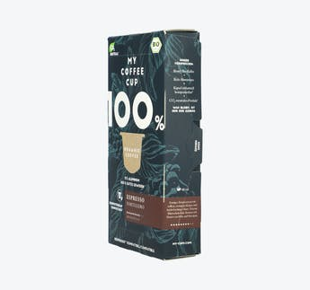 "BIO Kaffeekapseln kompostierbar ""Espresso Fortissimo"""