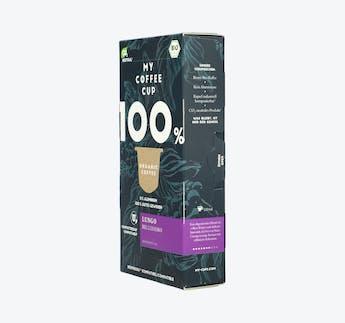 "BIO Kaffeekapseln kompostierbar ""Lungo Bellissimo"""