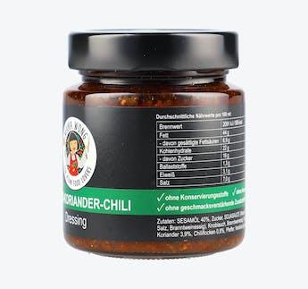 Dressing Sesam-Koriander-Chili