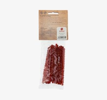 BIO vegane Fruchtgummistangen mit Erdbeer Geschmack