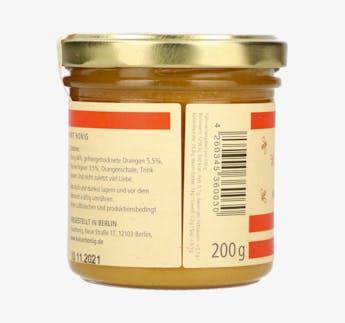 Orange & Ingwer Honigcreme