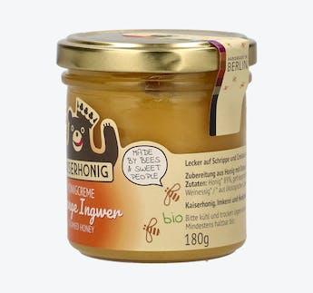 BIO Honigcreme mit Orange & Ingwer