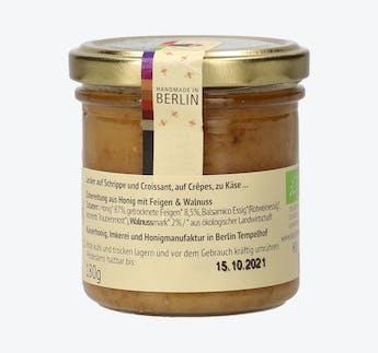 BIO Honigcreme mit Feige & Walnuss
