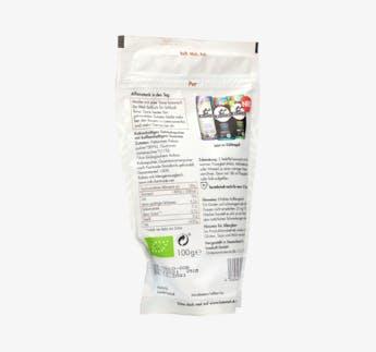 """BIO Kakaohaltiges Getränkepulver mit Koffein """"Pur"""""""