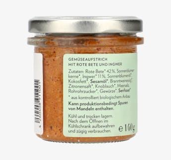 BIO Aufstrich - Rote Beete Ingwer