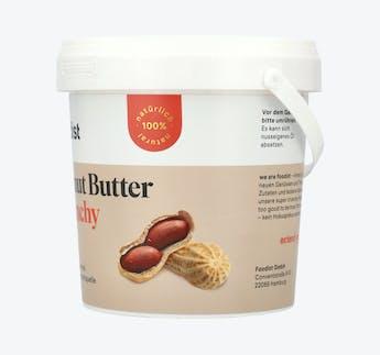Peanut Butter, crunchy, 1kg Eimer