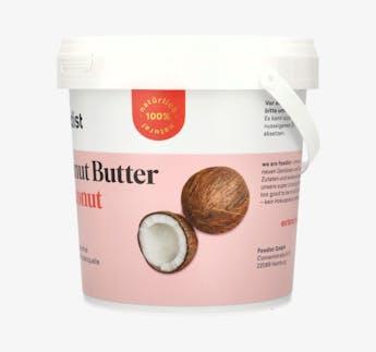 Peanut Butter mit Kokosnuss, 1kg Eimer