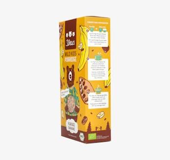 BIO Porridge - Wild Kids mit Kakao und Banane