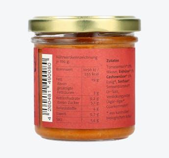 BIO Tomatenaufstrich mit Nussmus