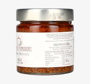 "Pesto mit getrockneten Tomaten ""di Pomodori"""