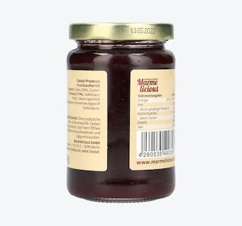 Fruchtaufstrich Cassis Prosecco