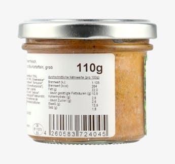 Wild Leberwurst grob mit BIO Preiselbeeren