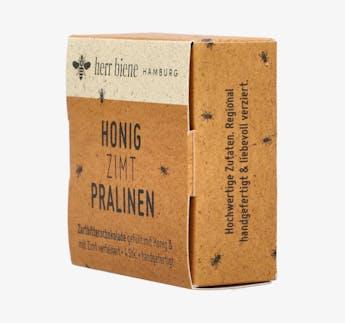 Honig-Zimt-Pralinen in Zartbitterschokolade, 4er-Pack