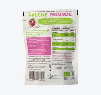 BIO Fruchtchips Roter Beerenmix