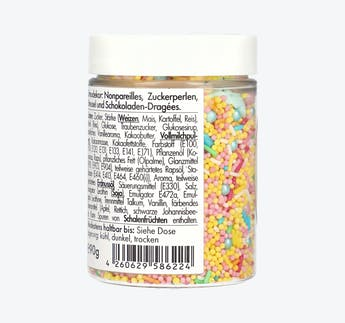 Zuckerstreusel Happy Sprinkles Pastell Summer