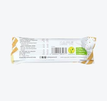 Crispy White Chocolate Peanut - Proteinriegel mit Erdnuss
