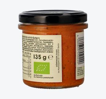 BIO Aufstrich Tomate & Kräuter