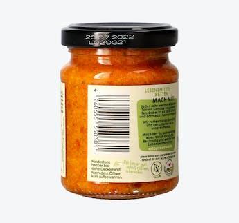 BIO Gemüsepesto Paprika mit Cashew